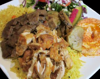 CHICKEN & GYRO PLATTER